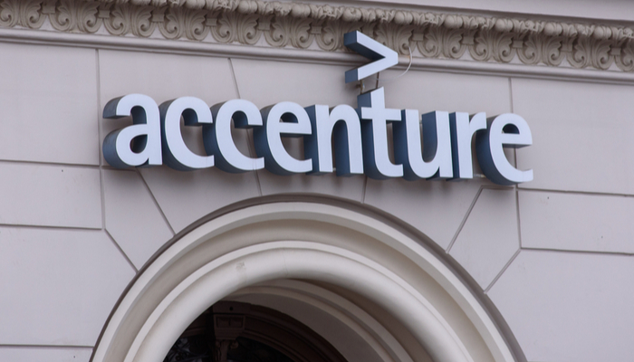 Accenture posted quarterly results that beat estimates