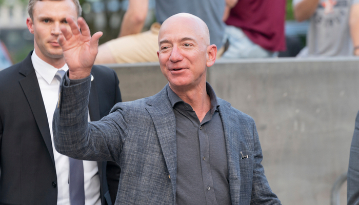 Jeff Bezos broke records